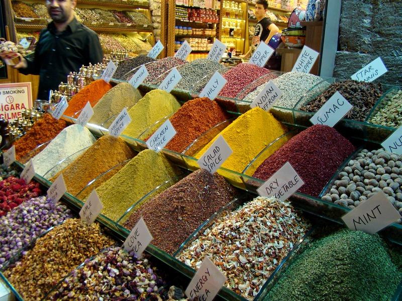 Spotlight: Istanbul's Spice Market – Wandering Jana