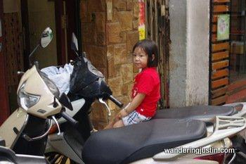 Vietnamese motorbikes