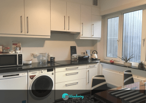 The Kitchen of the Airbnb in Antwerp