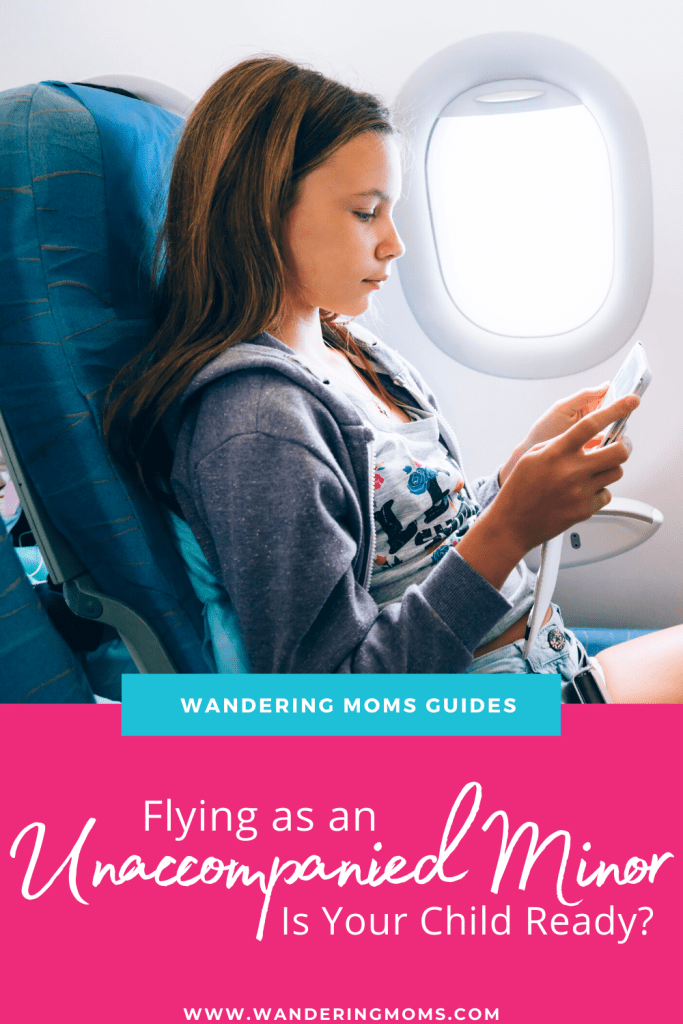 Flying as an unaccompanied minor- Is your child ready?