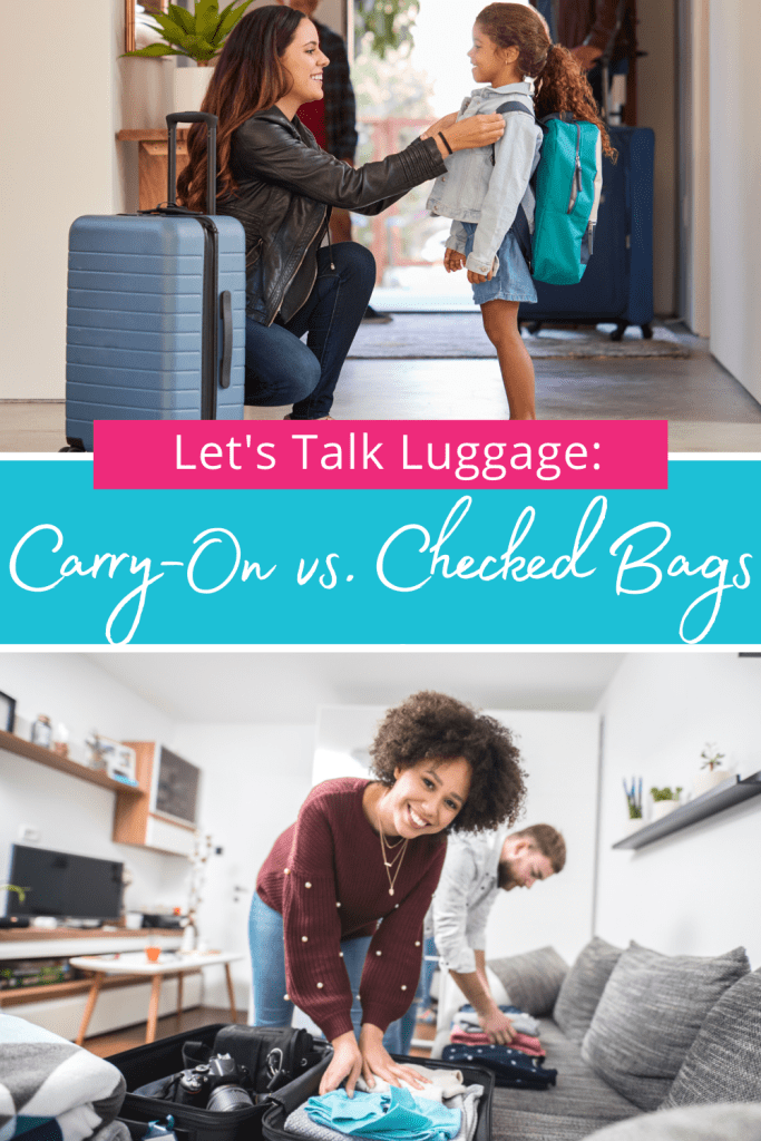 Let's Talk Luggage: Carry-On vs. Check Bags