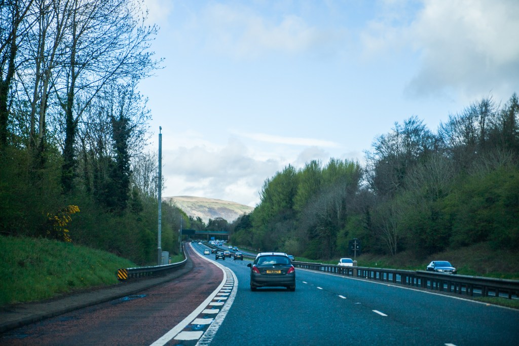 ireland highway