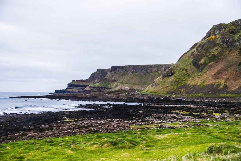 ireland northern coastal beach