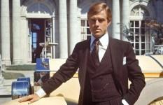 Robert Redford as Gatsby