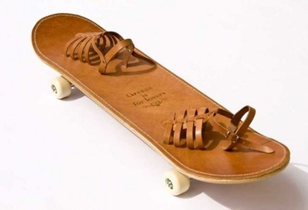 Tougher Than Leather skateboard