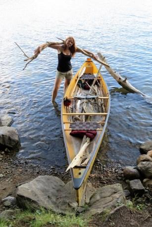 Canadian - Algonquin, canoeing