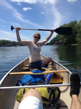 Canoe Warrior