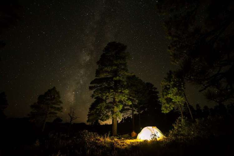 Wild camping in Brunei