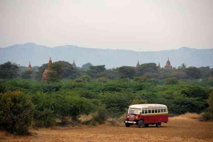 Wild camping in Myanmar
