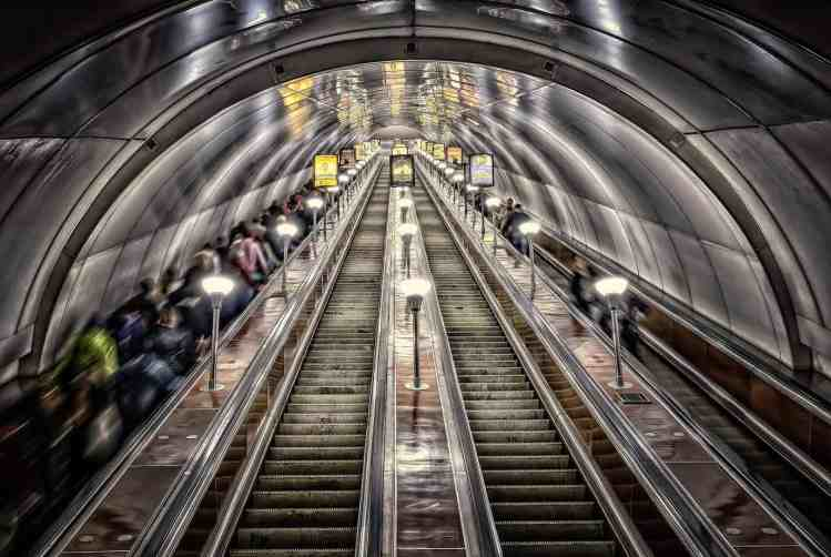 Cheap and deep - that's Tbilisi metro