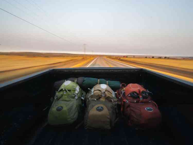 Wild camping Kuwait