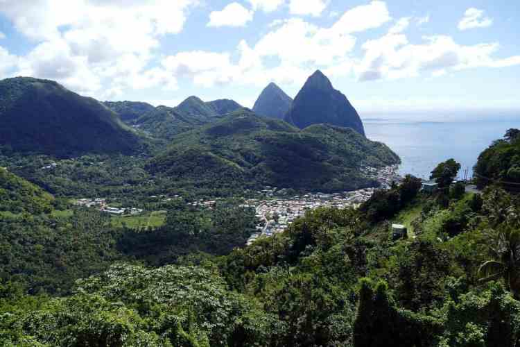 Barbados or St Lucia