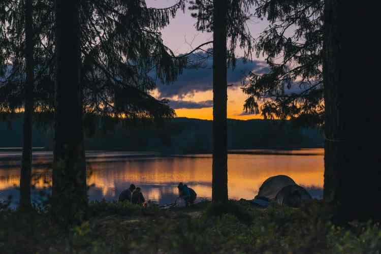 Camping at Lake Windermere