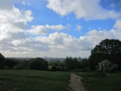 Hampstead Heath looking to central London 2