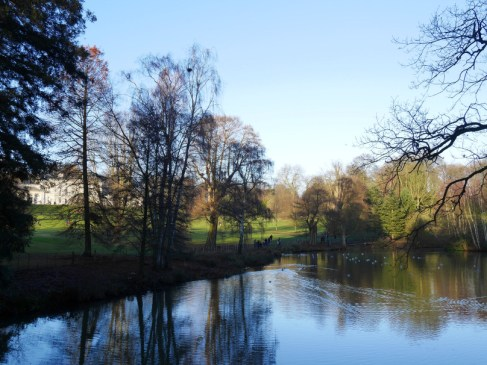 Hampstead Heath Pond by Kenwood House