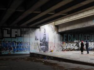 Regents Canal art (2)