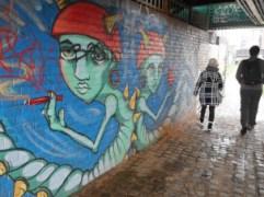 Regents canal art