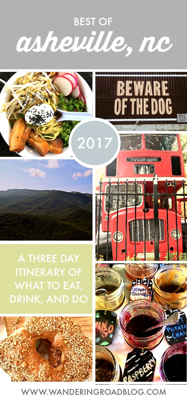 Three Day Asheville Itinerary