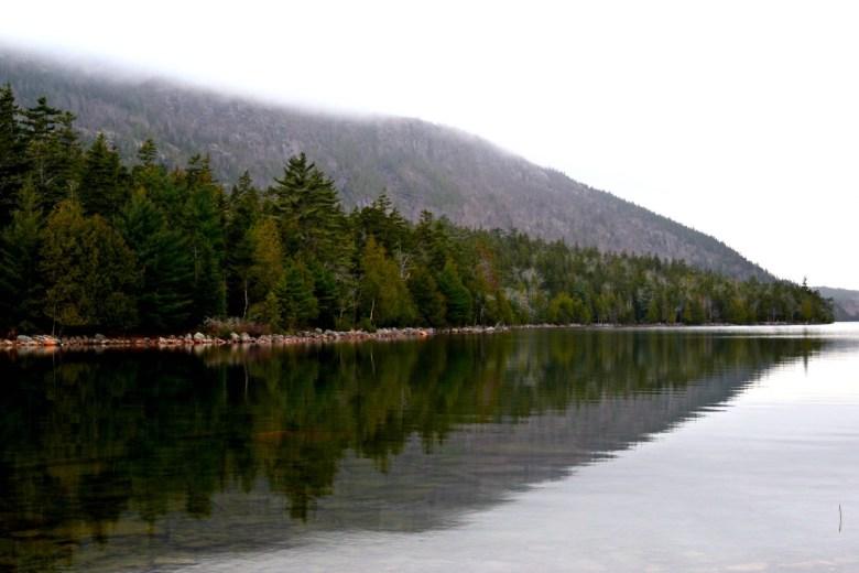 Jordan Pond in Fall