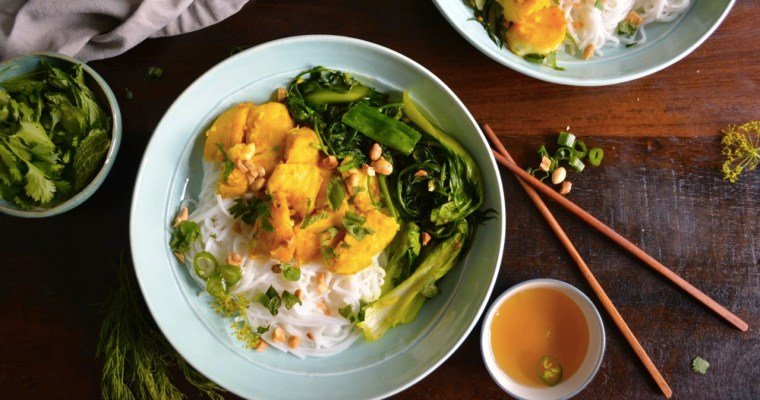Chả Cá – Vietnamese Style Fish with Turmeric & Dill