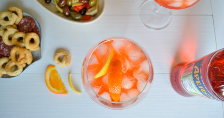 Super Citrusy Aperol Spritz