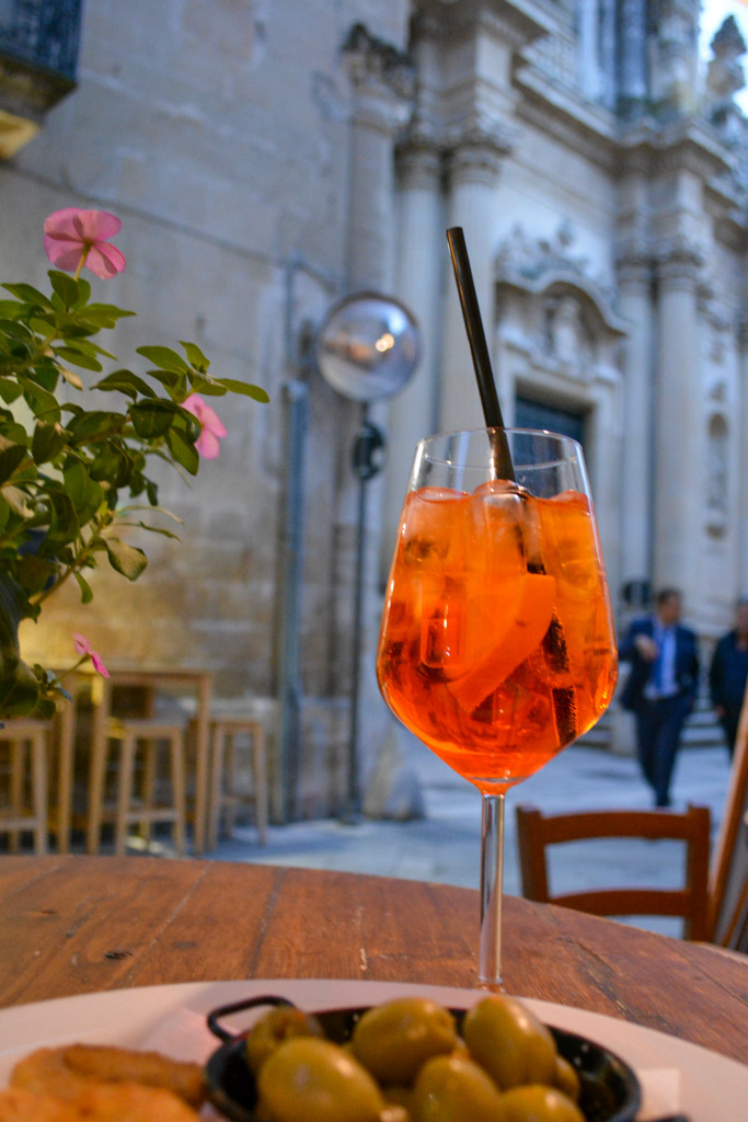 Aperol Spritz in Lecce, Italy