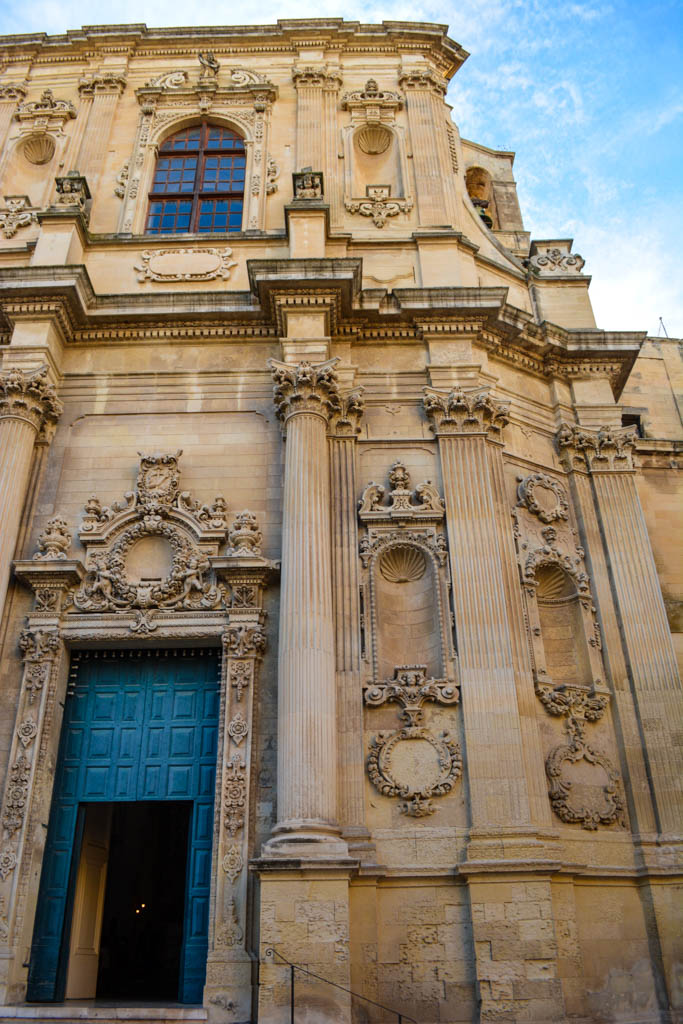 City of Lecce in the Puglia region of Italy, known for its Baroque architecture