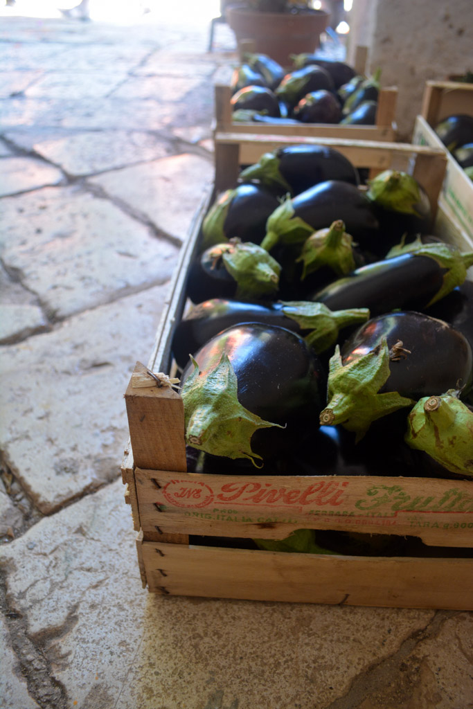 Eggplants - The Awaiting Table Italian Cooking Class