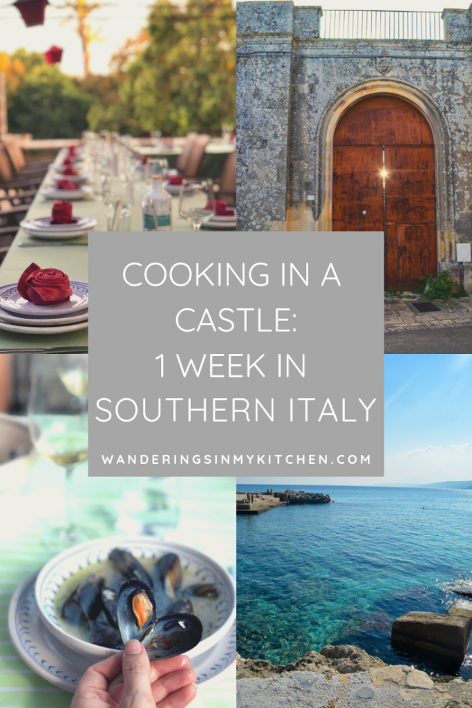 One week cooking class at the Awaiting Table Cooking School in Puglia, Italy