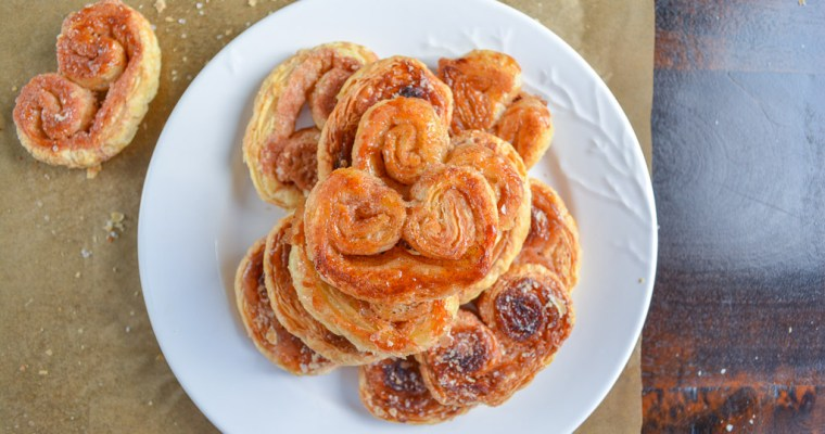 Sweet Spiced Palmiers