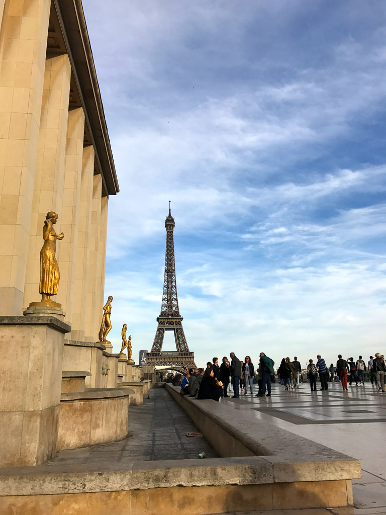 Comprehensive Guide to Paris:  Eiffel Tower from the Trocadero