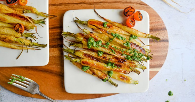 Simple Roasted Baby Carrots