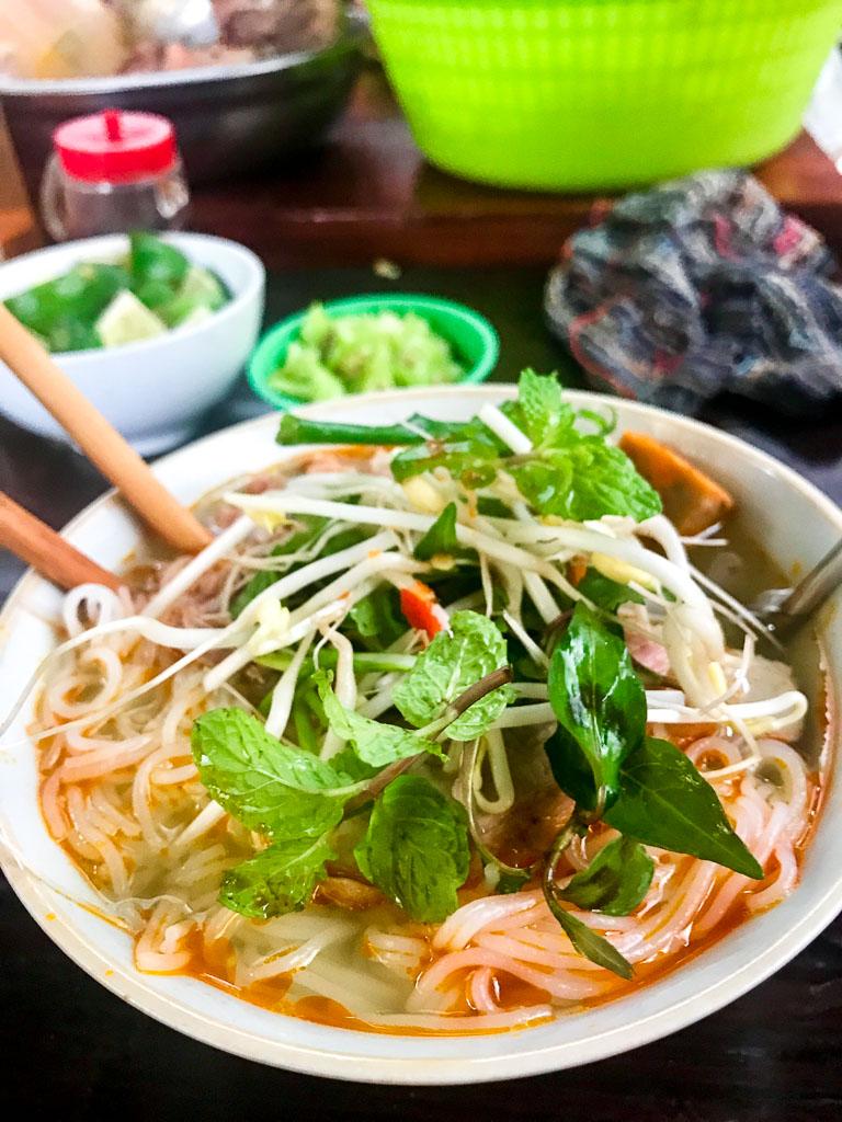 Breakfast in Hoi An, Vietnam