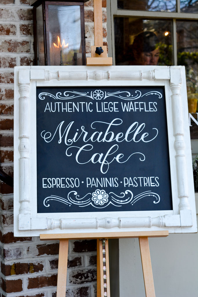 Mirabelle Cafe in Savannah, Georgia