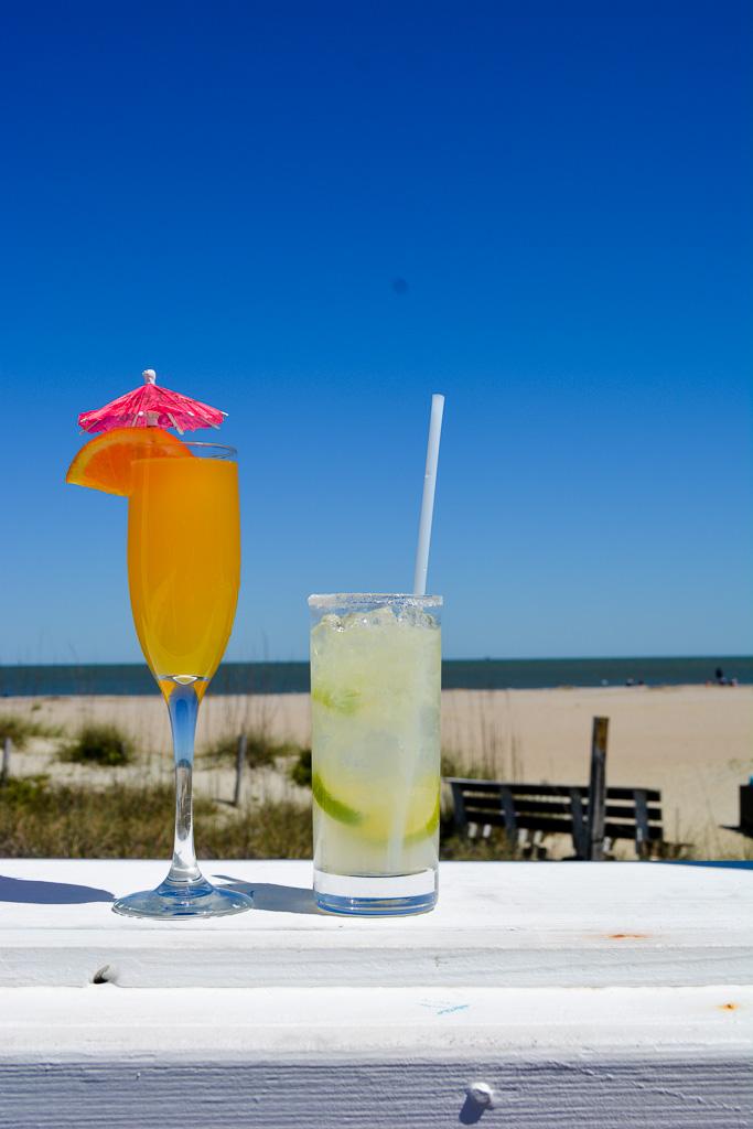 Drinks the Deck Beach Bar on Tybee Island