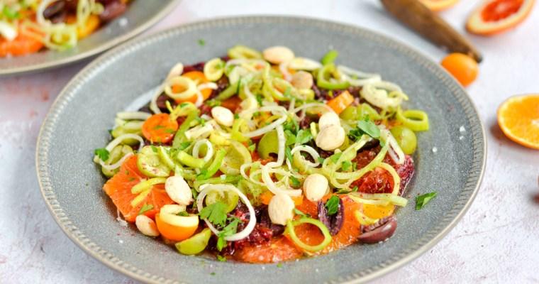 Spanish Orange & Olive Salad