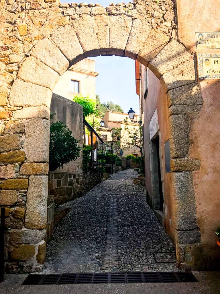 Old Town of Tossa de Mar, Spain