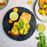Pan Fried Tilapia with Mango Jalapeno Salsa