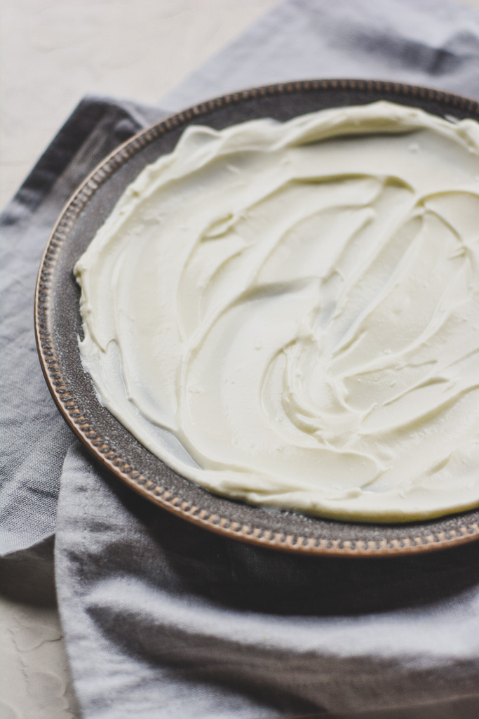 Creamy, swirled Greek yogurt