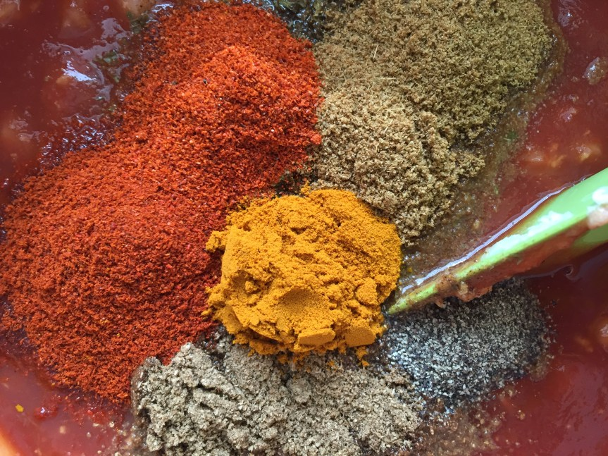 Spices are pretty.