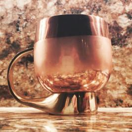 Okay so I may have given a pair of these #MoscowMule mugs to Joe so I could use them too #anthropologie