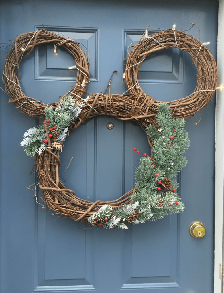 mickey wreath