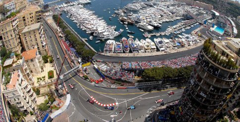 Monaco Grand Prix, Monte Carlo, Monaco (found on Google)