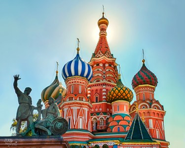 St. Basil's Cathedral, Russia (found on Google)