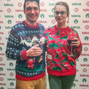 Ugly sweater parrty!