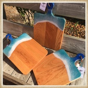 Custom Resin Art Cutting Boards