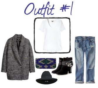 Plain White T Outfits