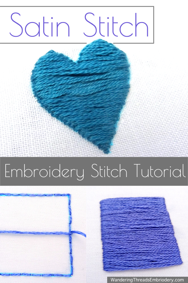How To Finish Embroidery Stitch : finish, embroidery, stitch, Wandering, Threads, Embroidery