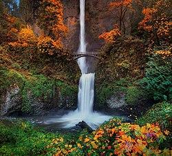 Multnomah Falls Oregon Wallpaper Multnomah Falls Oregon America S Most Beautiful