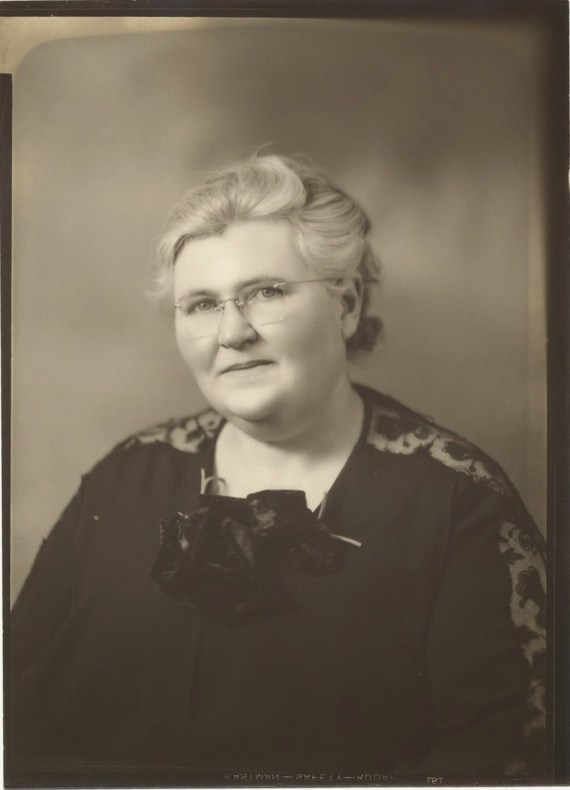 Mary Campbell Older Photo